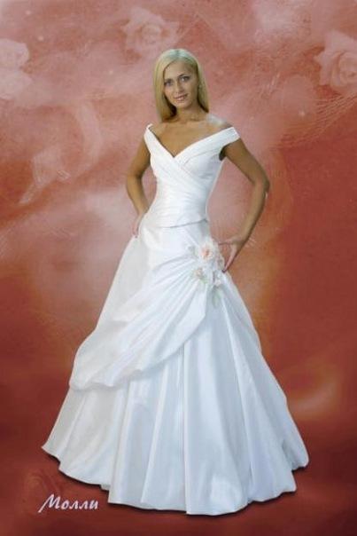 Счастливое свадебное платье авторская работа Татьяны Каплун в